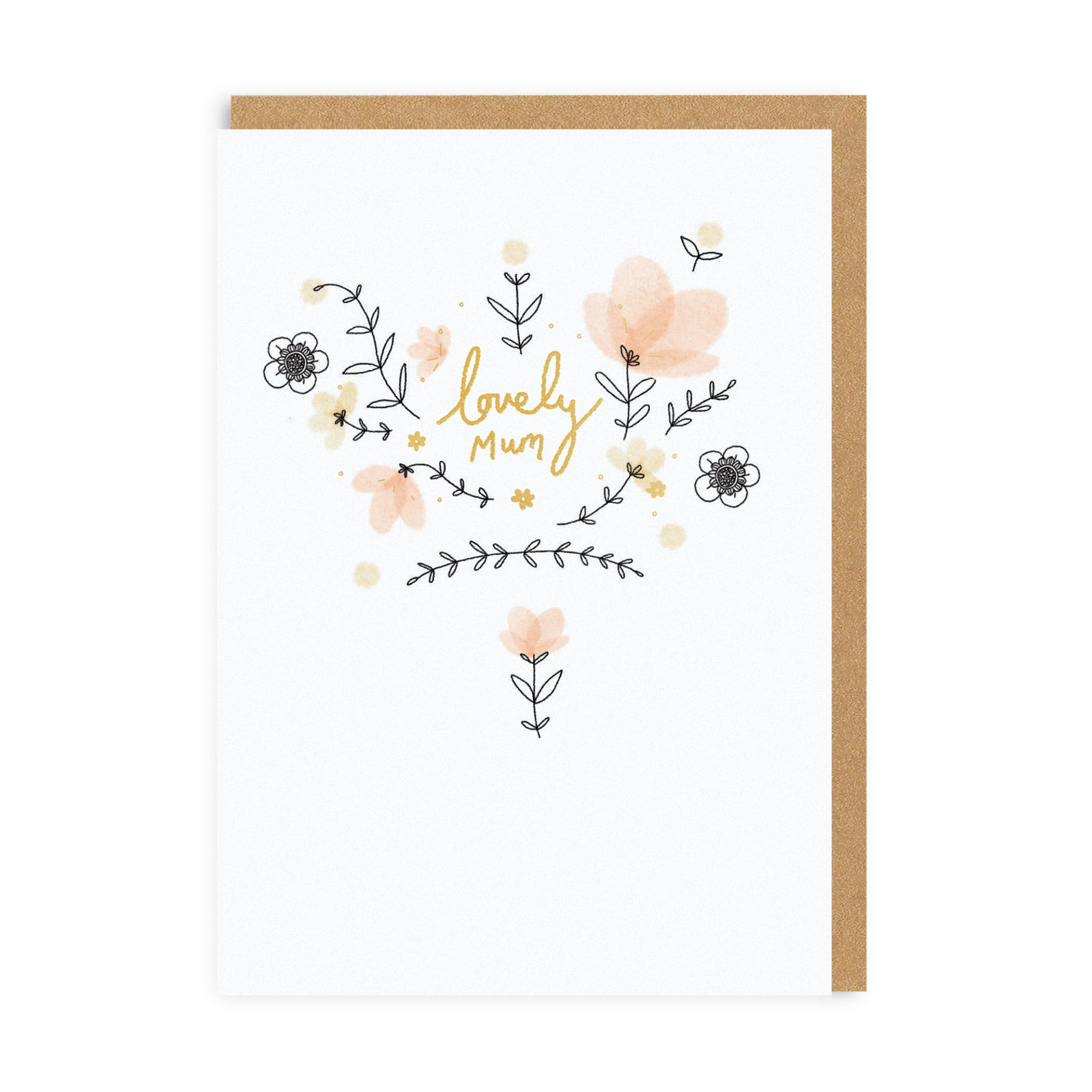 Lovely Mum Greeting Card