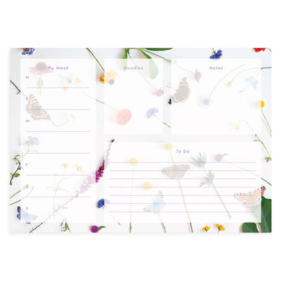 Butterfly Meadow Deskpad