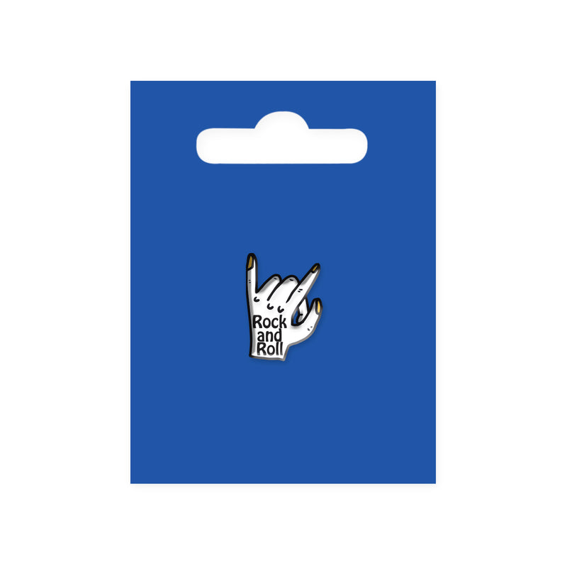 Rock and Roll Enamel Pin