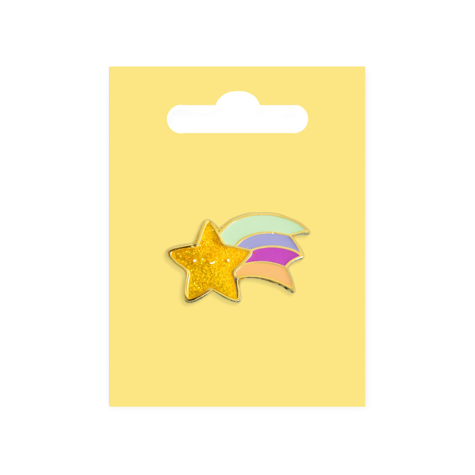 Shooting Star Enamel Pin