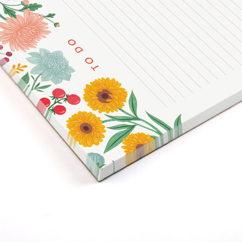 A5 Autumn Garden Notepad