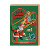 Let's Catch Santa Greeting Card