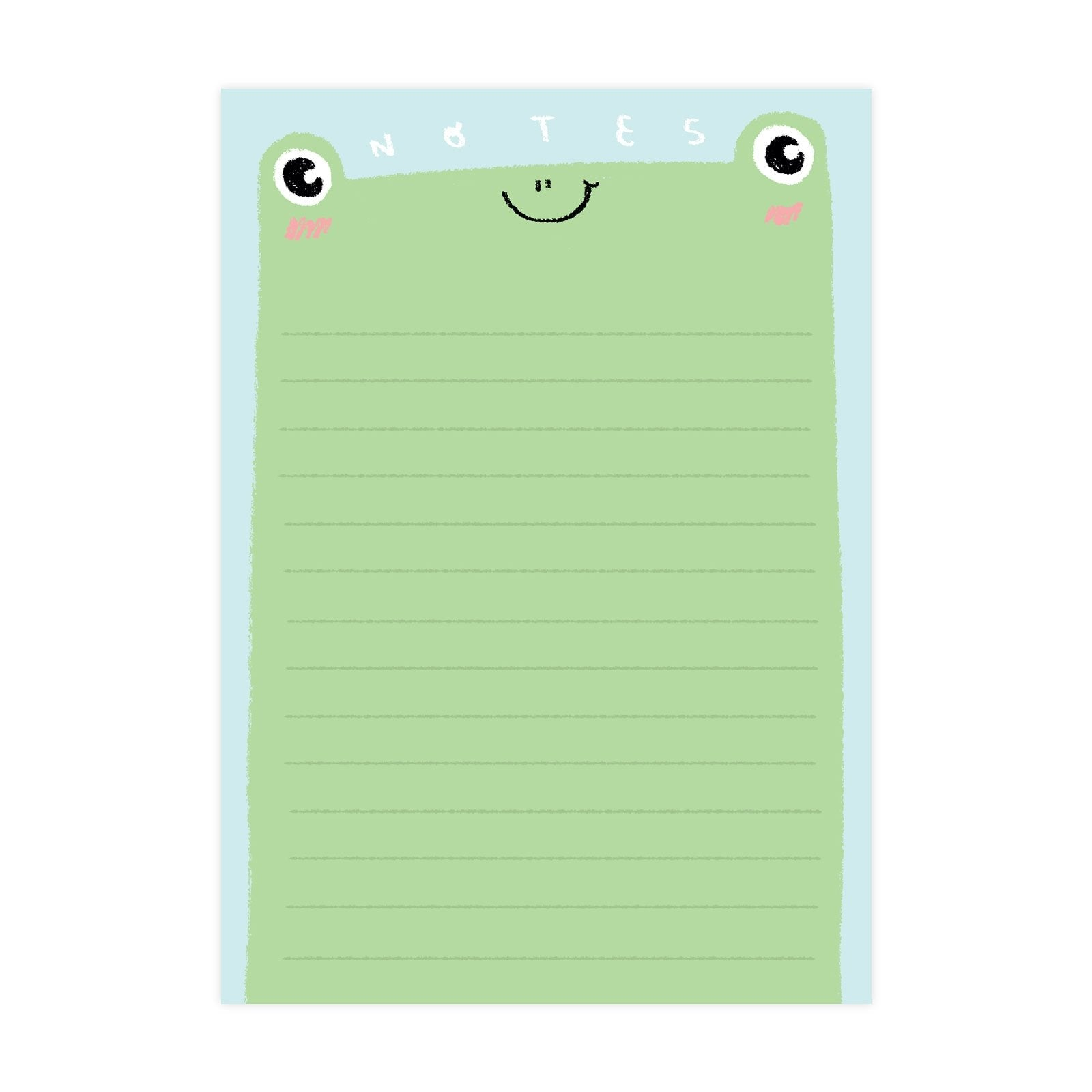 Cute Frog A6 Notepad