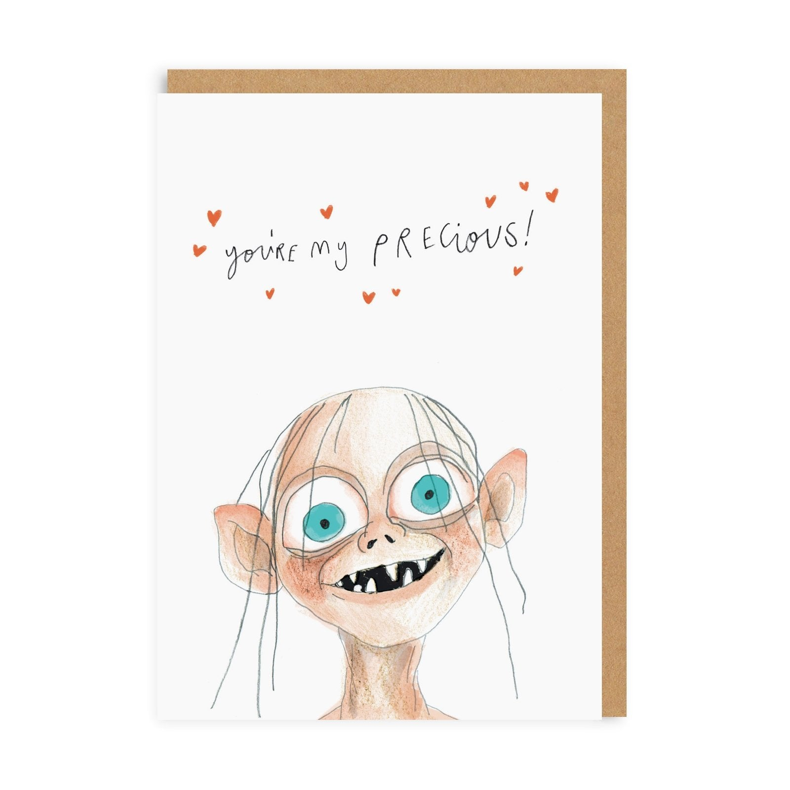 You're My Precious Greeting Card