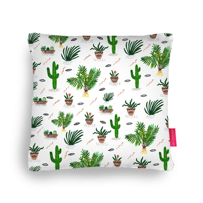 Cacti and friends Pillow