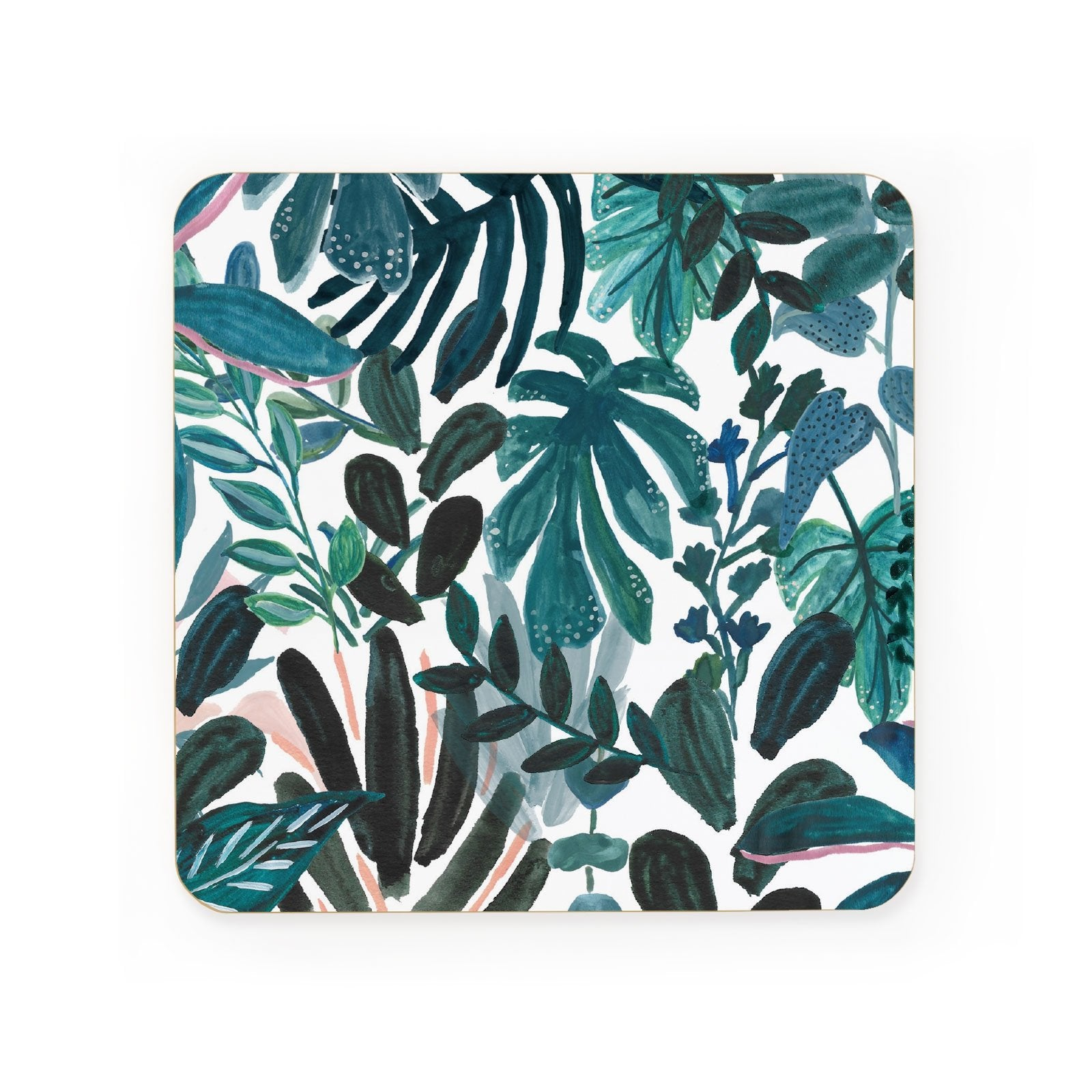 Jungle Print Coaster