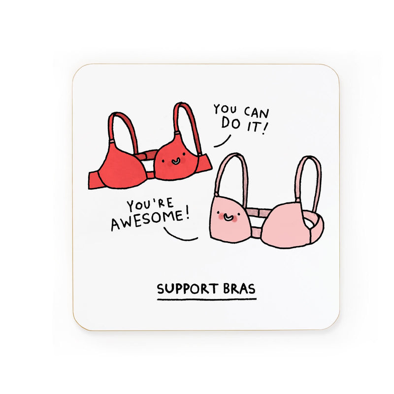 Support Bras Coaster