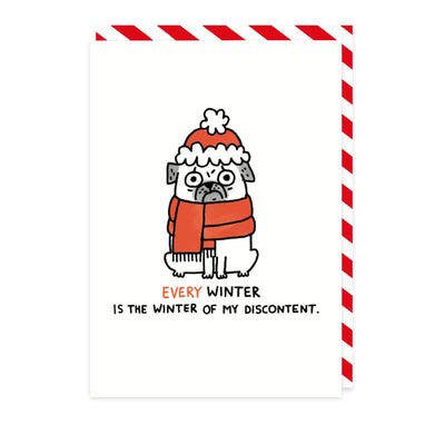 Winter of Discontent Greeting Card