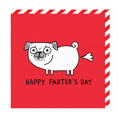 Happy Farters Day Greeting Card