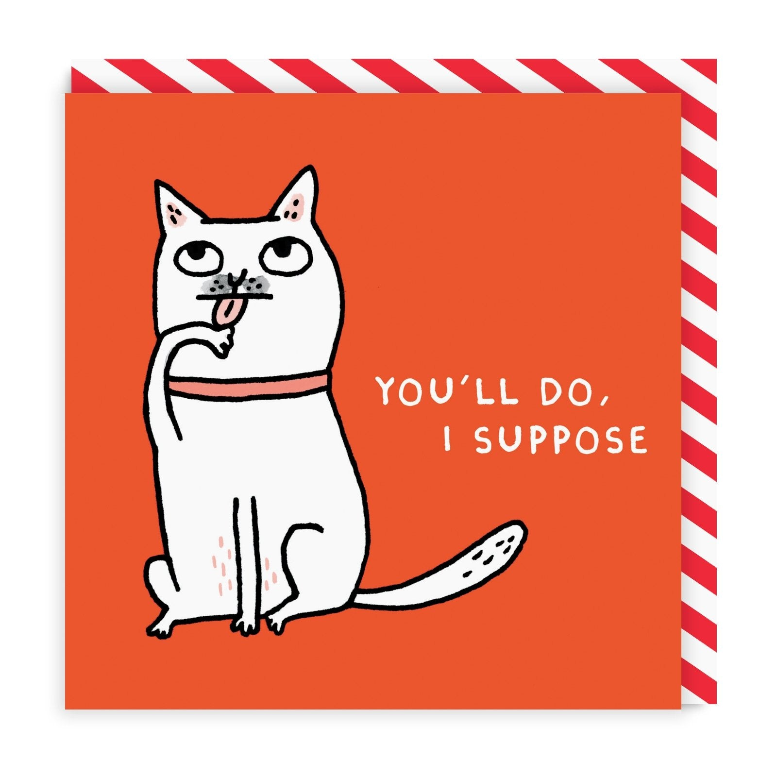 You'll Do I Suppose Square Greeting Card