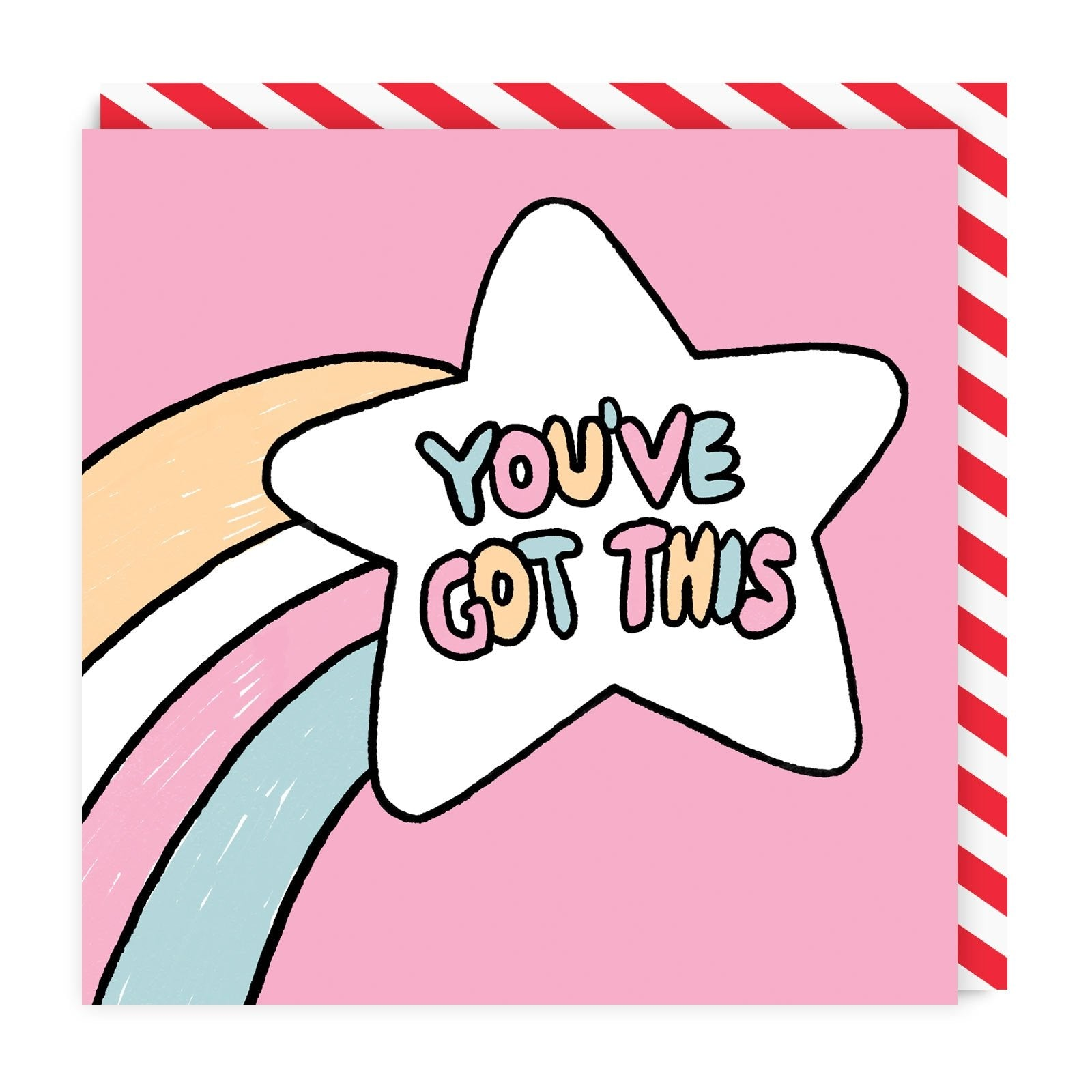 You've Got This Square Greeting Card
