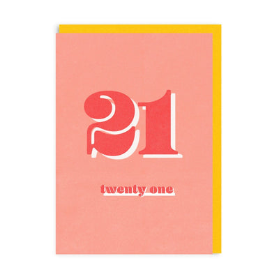 21 Riso Greeting Card