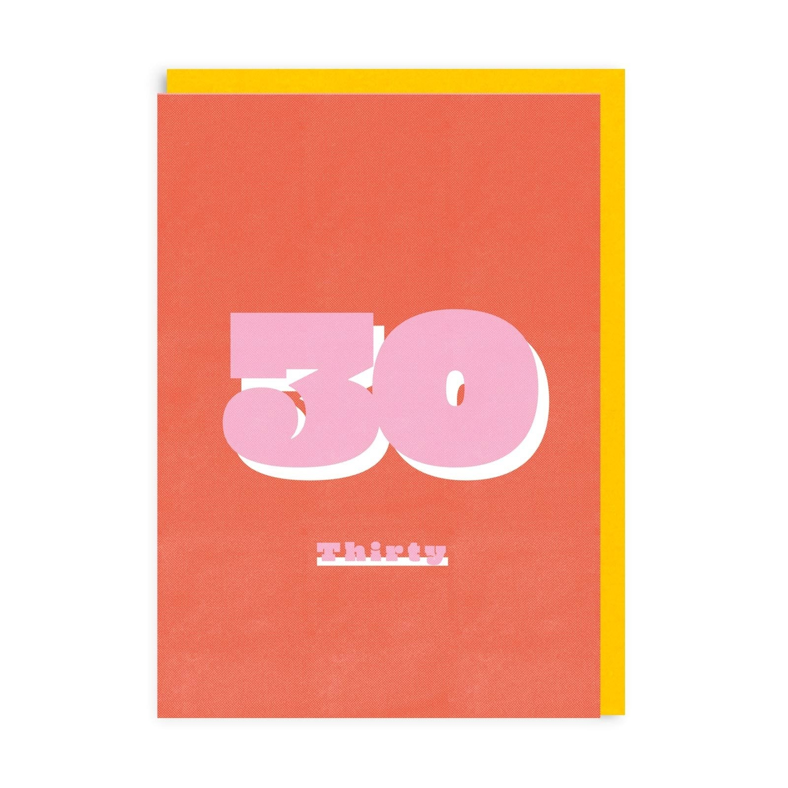 30 Riso Greeting Card