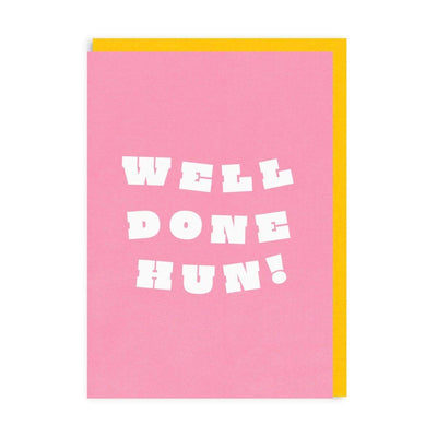 Well Done Hun! Riso Greeting Card