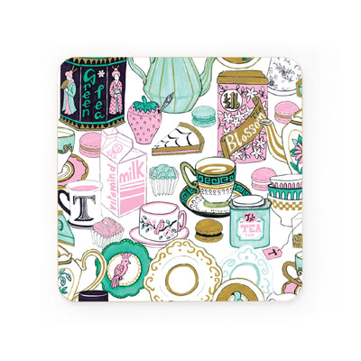 Tea Time Coaster