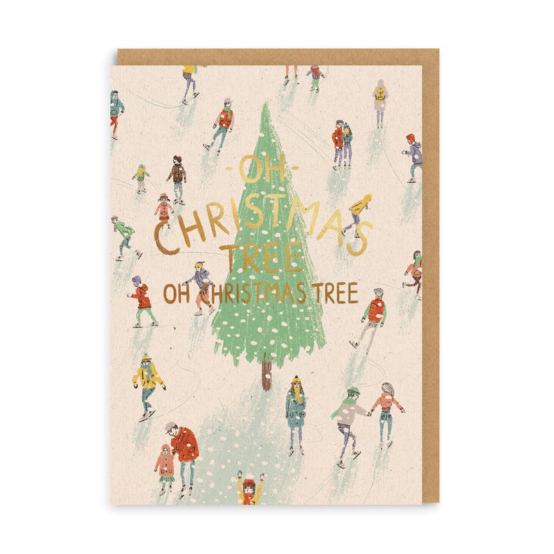 Oh Christmas Tree Greeting Card