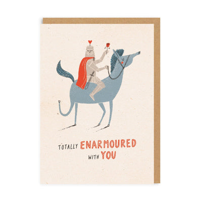 Totally Enarmoured With You Greeting Card