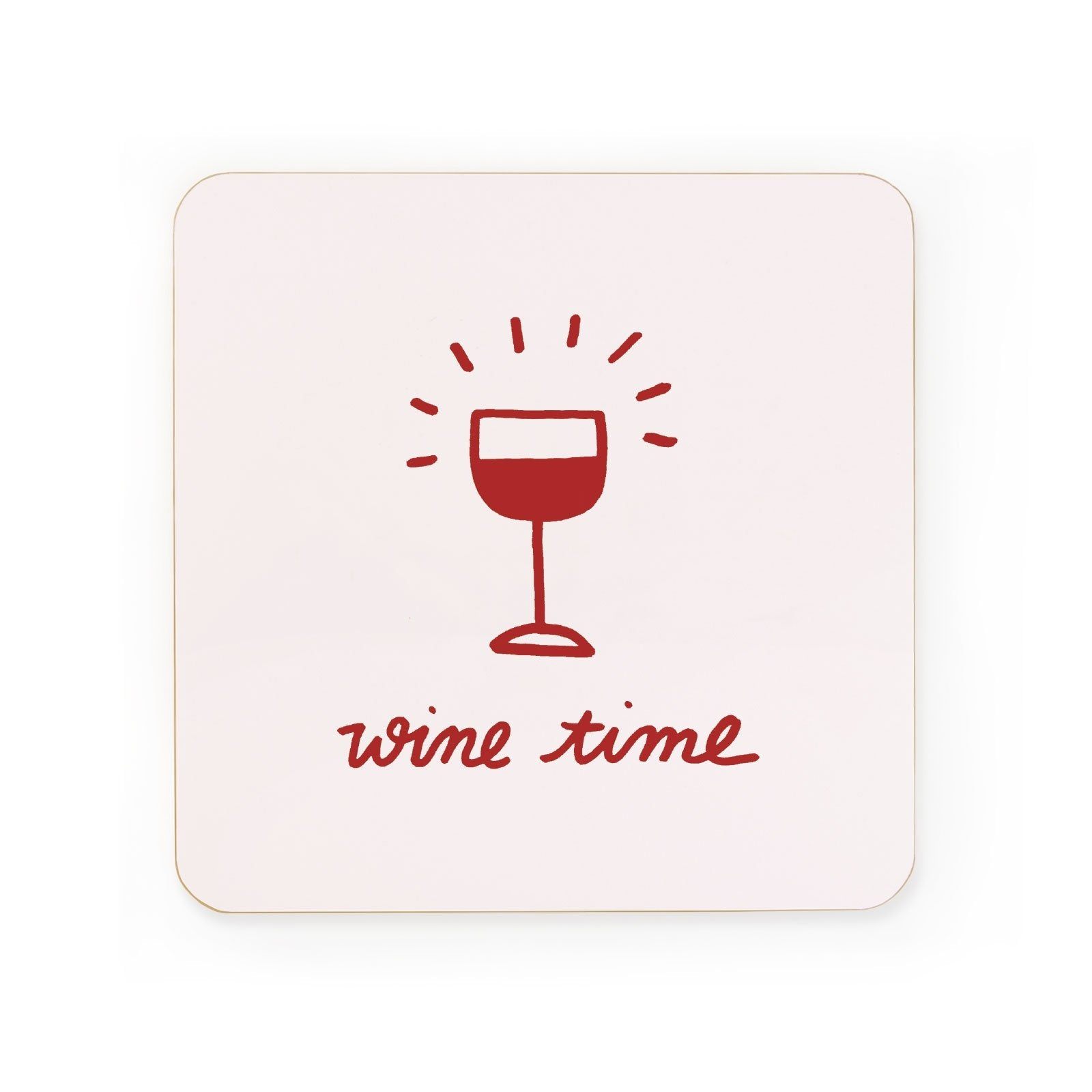 Wine Time Coaster