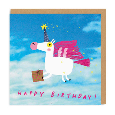 Unicorn Square Greeting Card