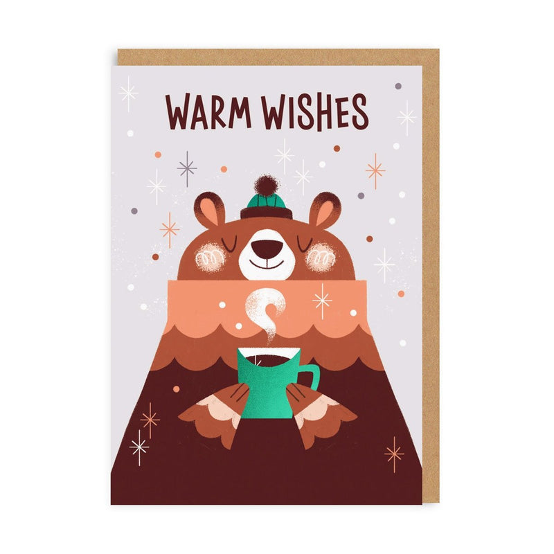 Christmas Bear Greeting Card
