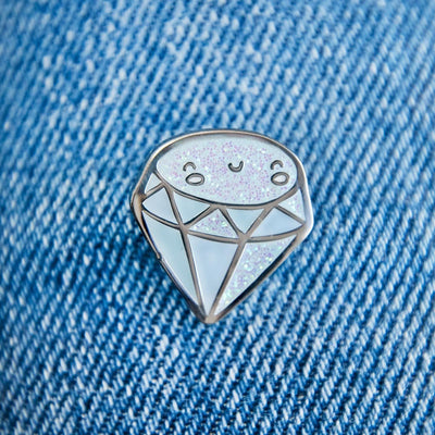 Diamond Enamel Pin