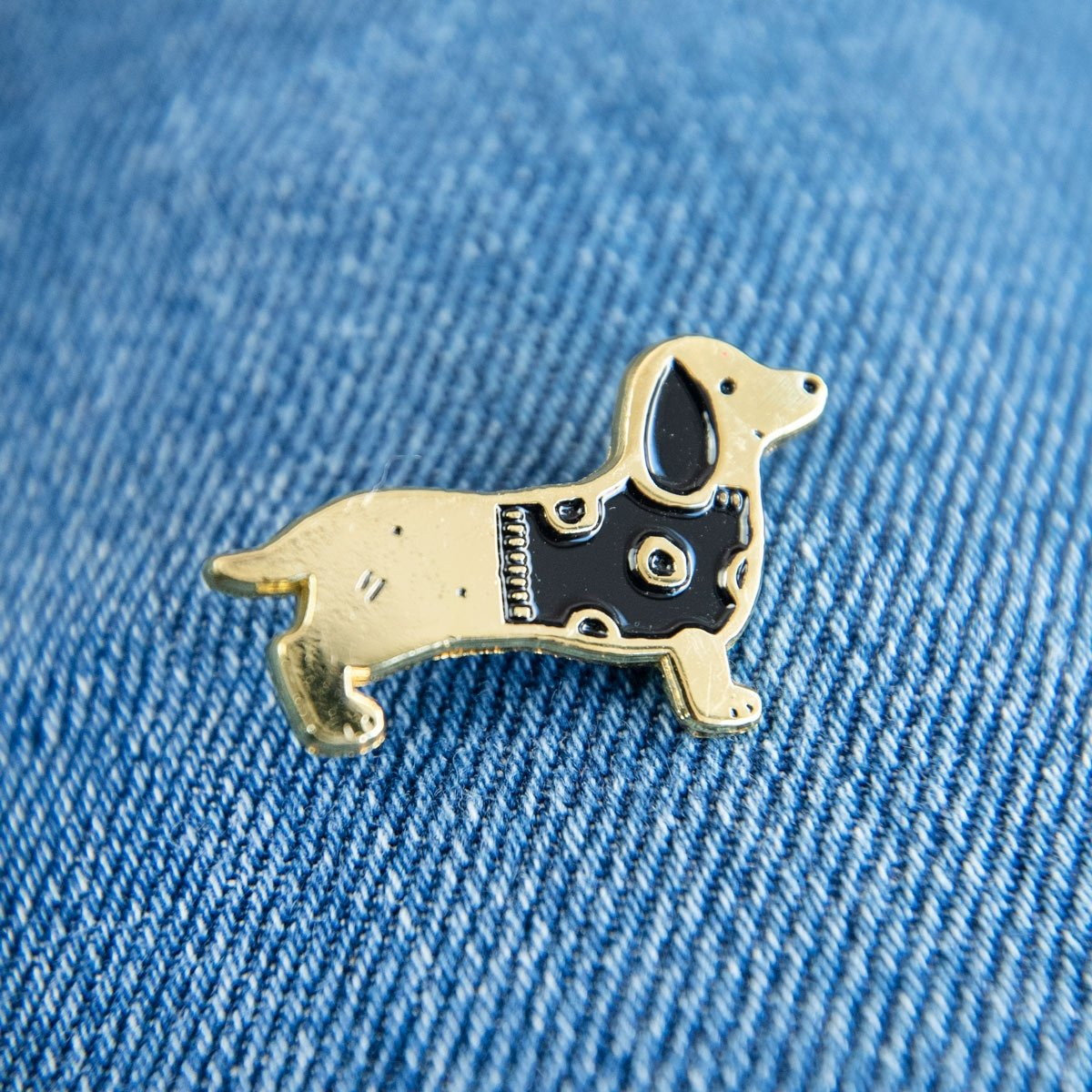 Sausage Dog Enamel Pin