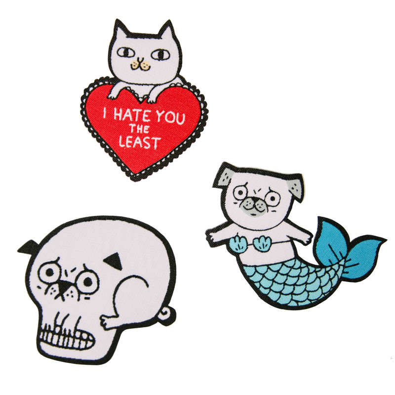 Woven Patch Set - Tattoos