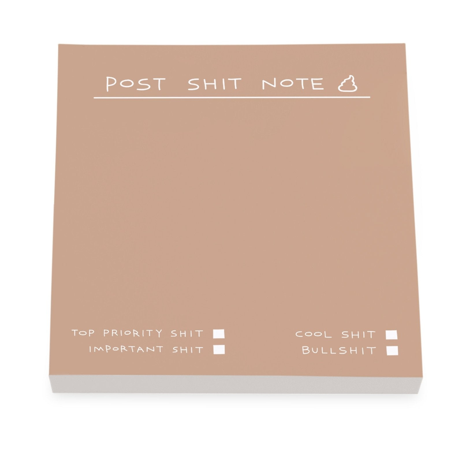 Post Shit Note Sticky Notes