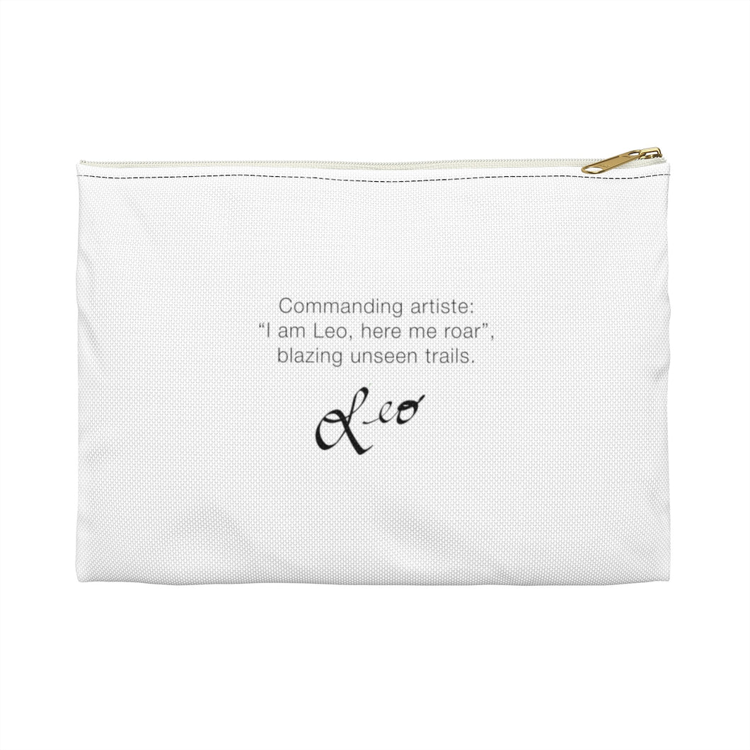 Astrological Alignment Accessory Pouch- LEO