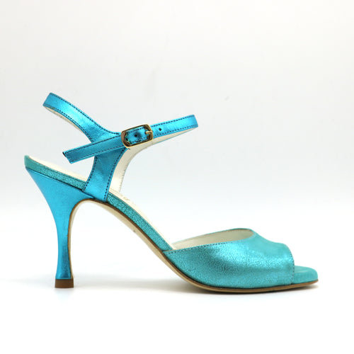 Uno Maxi Turquoise talons 8cm