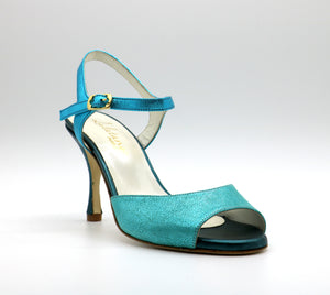 Uno Turquoise talons 8cm