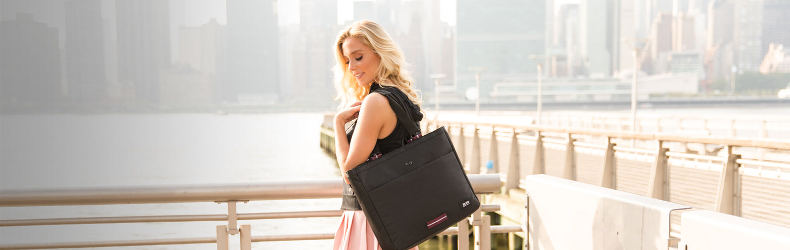 08a85da0f Women's Laptop Tote Bags for Work - Solo New York