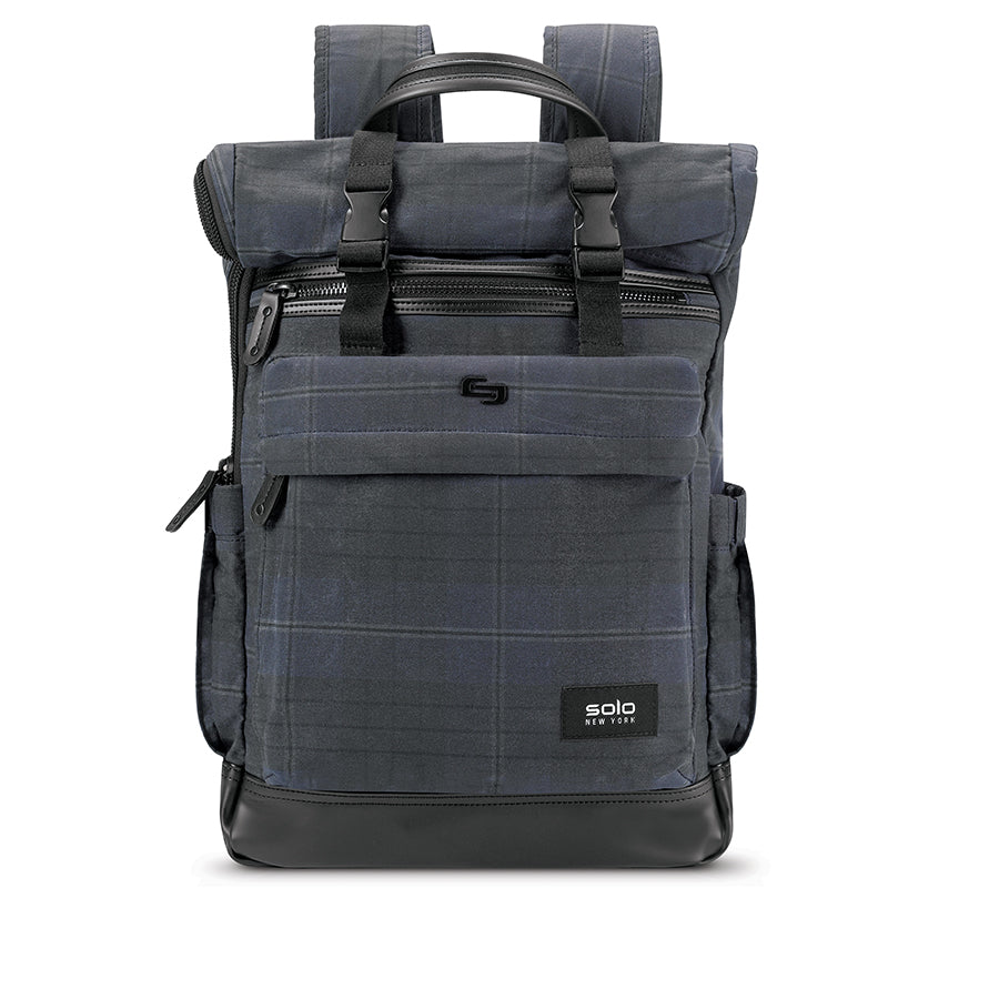 a7d39c3d9 Waxed Canvas Roll Top Backpack - Cameron - Solo New York