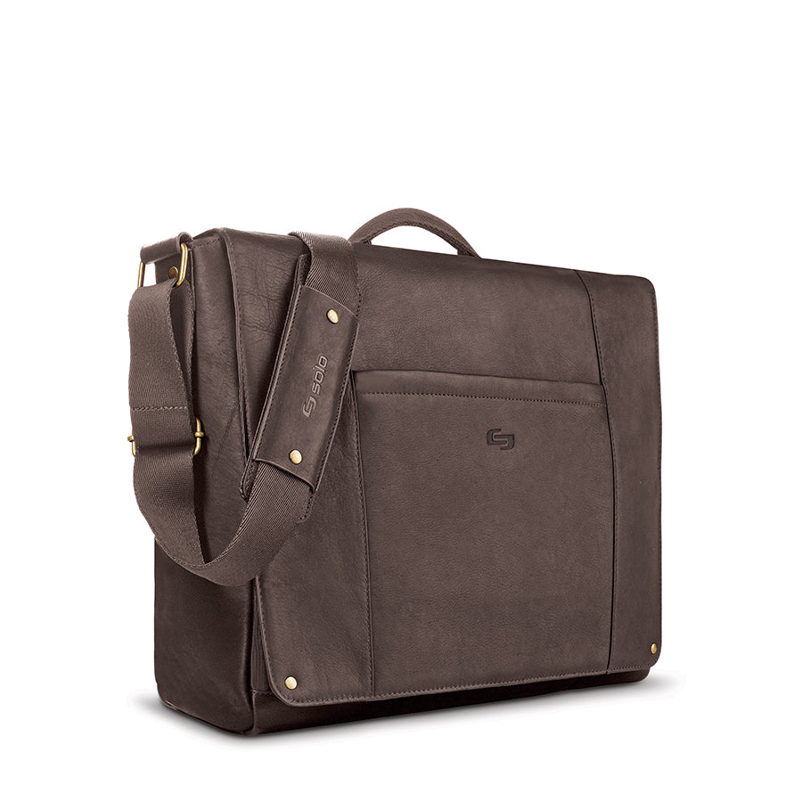 Hudson Leather Messenger