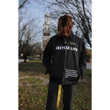 """RECYCLE LIFE "" JACKET (BLACK)"