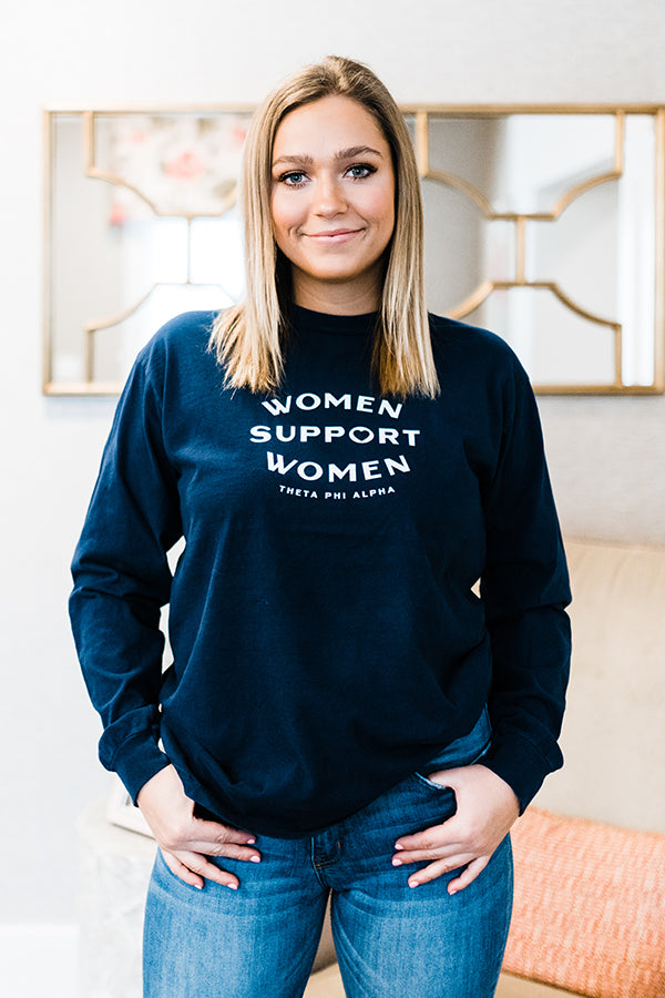 Support Women Long Sleeve