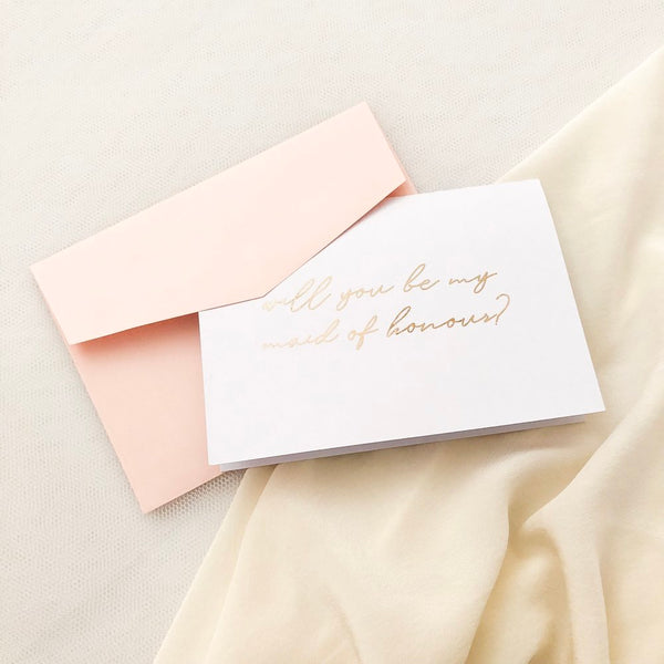 Bridal Party Proposal Cards - Vorfreude Stationery