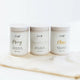 Leif Tea Co - Tea Trio Gift Pack (Grey, Breakfast, Chai)