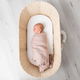 Love & Lee - Organic Cotton Muslin Swaddle Wrap - Dusty Pink