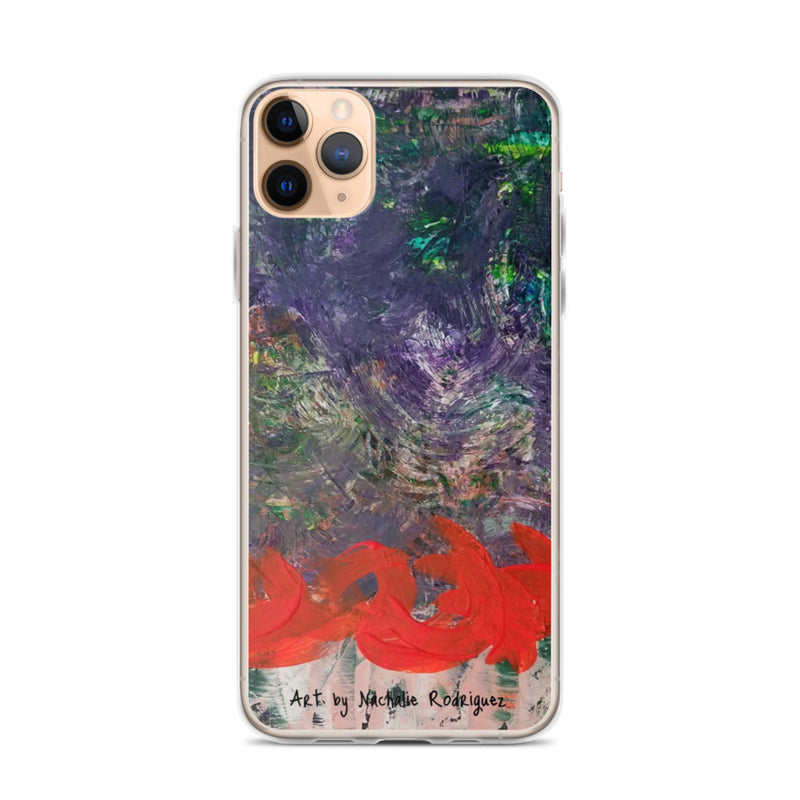 Turbulence iPhone Case