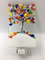 Fused glass Nightlights