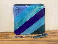 Fused Glass Cheese plates
