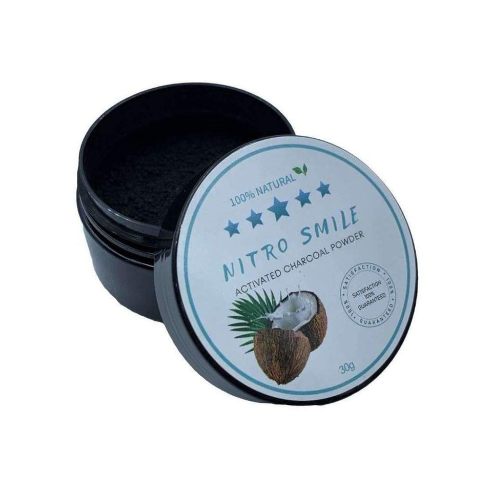 Charcoal Teeth Whitening Powder - NitroSmile