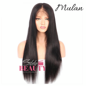 Mulan Affordable Human Hair Lace Frontal Wig #MotionPicture  - STDIO BEAUTY