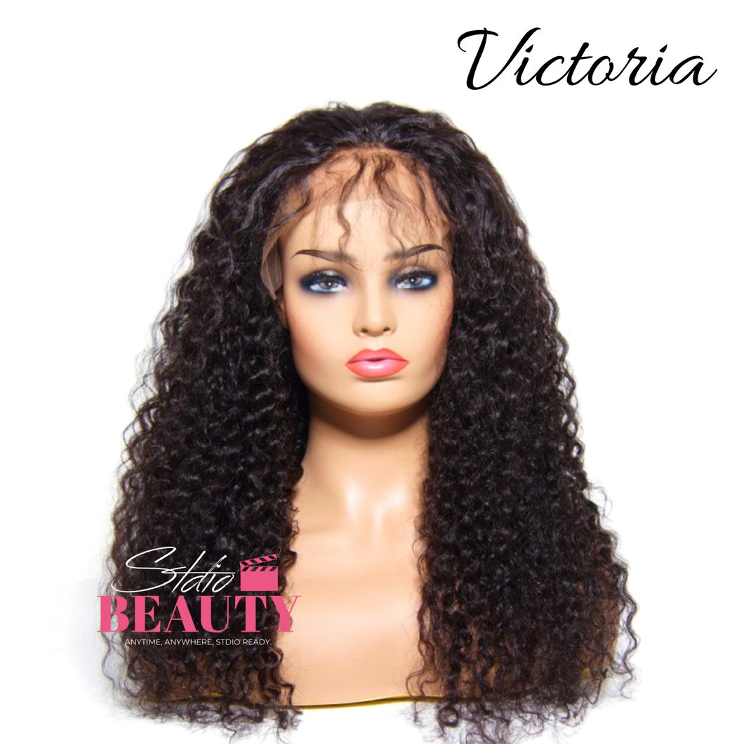 Victoria Human Hair Lace Frontal Wig #MotionPicture  - STDIO BEAUTY