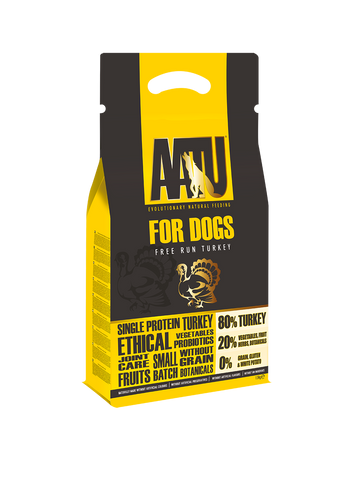 AATU for dogs free run turkey dry food