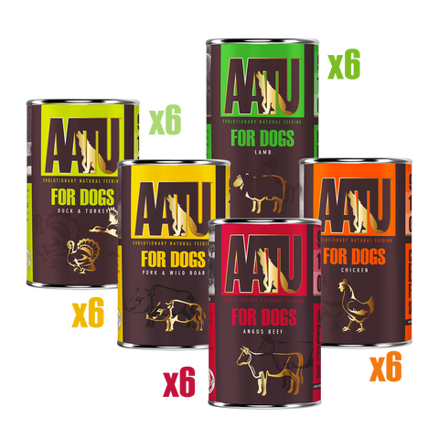AATU for Dogs wet tasting menu bundle