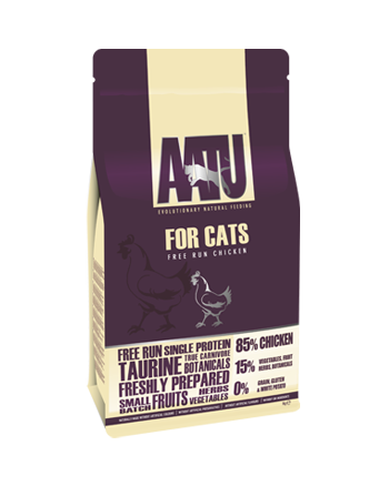 AATU for Cats free run chicken dry food
