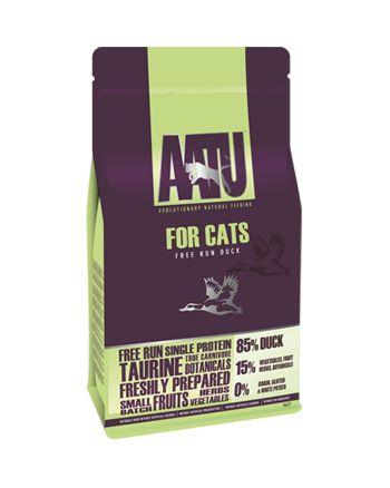 AATU for Cats free run duck dry food