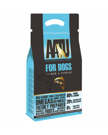 AATU for dogs salmon & herring dry food